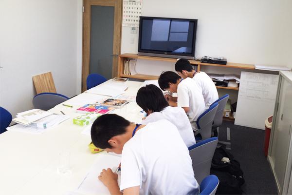 西中学校 就労体験 0707